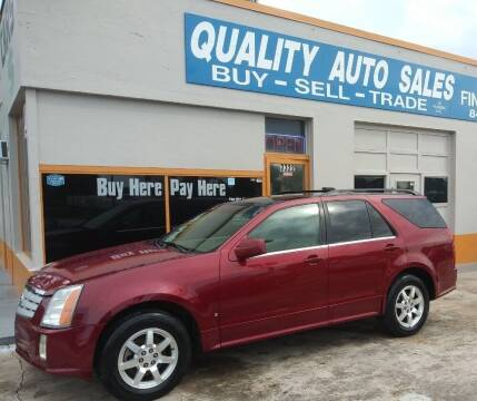2006 Cadillac SRX for sale at QUALITY AUTO SALES OF FLORIDA in New Port Richey FL