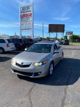2009 Acura TSX for sale at US 24 Auto Group in Redford MI