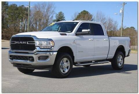 2020 RAM Ram Pickup 2500 for sale at WHITE MOTORS INC in Roanoke Rapids NC
