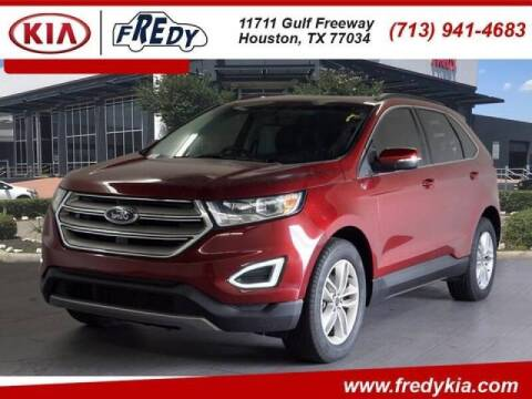 2017 Ford Edge for sale at FREDYS CARS FOR LESS in Houston TX