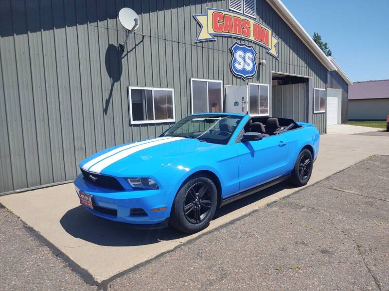 2012 Ford Mustang for sale at CARS ON SS in Rice Lake WI