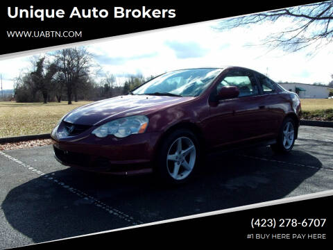 2003 Acura RSX for sale at Unique Auto Brokers in Kingsport TN