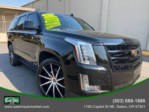 2016 Cadillac Escalade for sale at Salem Auto Market in Salem OR