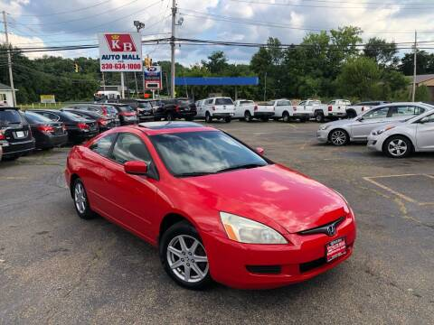 2003 Honda Accord for sale at KB Auto Mall LLC in Akron OH