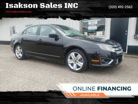 2010 Ford Fusion for sale at Isakson Sales INC in Waite Park MN