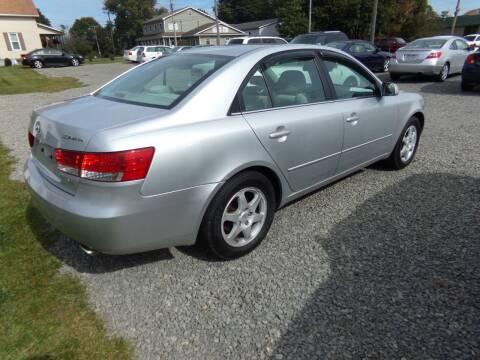 2006 Hyundai Sonata for sale at English Autos in Grove City PA