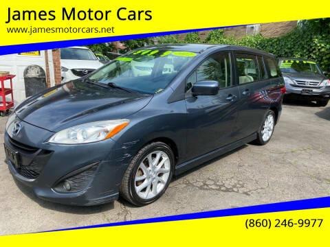 2012 Mazda MAZDA5 for sale at James Motor Cars in Hartford CT