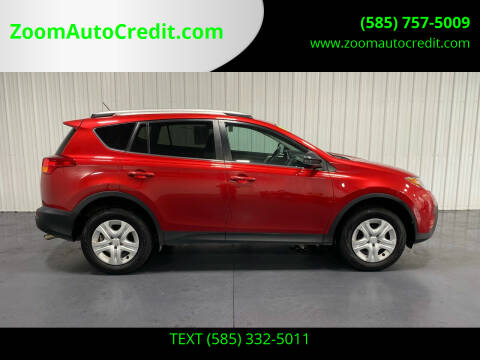2015 Toyota RAV4 for sale at ZoomAutoCredit.com in Elba NY