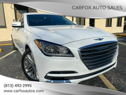 2017 Genesis G80 for sale at Carfox Auto Sales in Tampa FL