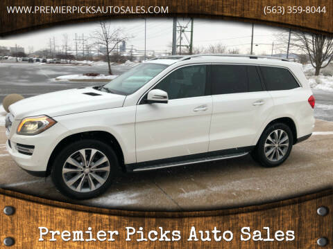 2014 Mercedes-Benz GL-Class for sale at Premier Picks Auto Sales in Bettendorf IA