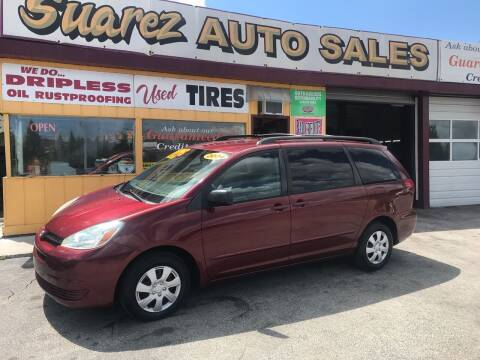 2004 Toyota Sienna for sale at Suarez Auto Sales in Port Huron MI