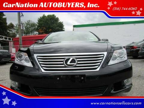 2012 Lexus LS 460 for sale at CarNation AUTOBUYERS, Inc. in Rockville Centre NY