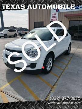 2013 Chevrolet Equinox for sale at TEXAS AUTOMOBILE in Houston TX