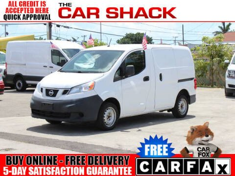 2015 Nissan NV200 for sale at The Car Shack in Hialeah FL