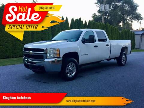 2009 Chevrolet Silverado 2500HD for sale at Kingdom Autohaus LLC in Landisville PA