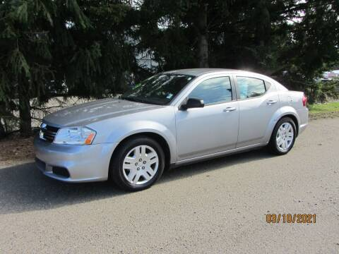 2013 Dodge Avenger for sale at B & C Northwest Auto Sales in Olympia WA