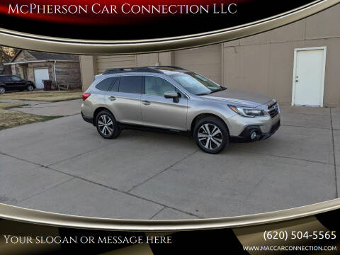 2018 Subaru Outback for sale at McPherson Car Connection LLC in Mcpherson KS