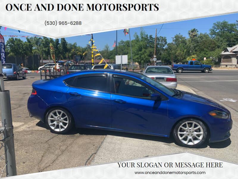 2013 Dodge Dart for sale in Chico, CA