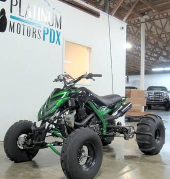 2007 Yamaha Raptor for sale at Platinum Motors in Portland OR