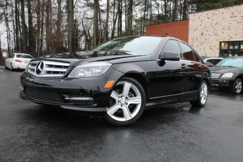 2011 Mercedes-Benz C-Class for sale at Atlanta Unique Auto Sales in Norcross GA