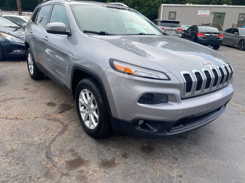 2015 Jeep Cherokee for sale at Allen's Auto Sales LLC in Greenville SC