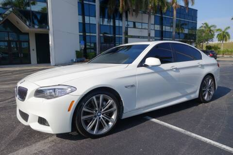 2013 BMW 5 Series for sale at SR Motorsport in Pompano Beach FL