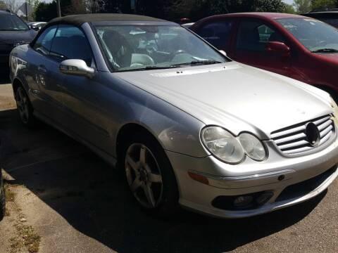 2005 Mercedes-Benz CLK for sale at Klassic Cars in Lilburn GA