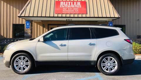 2013 Chevrolet Traverse for sale at Butler Enterprises in Savannah GA