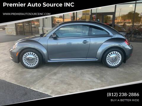 2016 Volkswagen Beetle for sale at Premier Auto Source INC in Terre Haute IN
