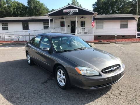 2003 Ford Taurus for sale at CVC AUTO SALES in Durham NC