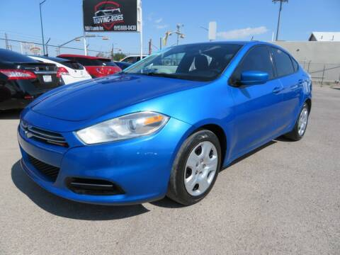 2015 Dodge Dart for sale at Moving Rides in El Paso TX
