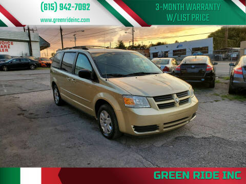 2010 Dodge Grand Caravan for sale at Green Ride Inc in Nashville TN