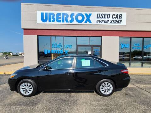 2016 Toyota Camry for sale at Ubersox Used Car Superstore in Monroe WI