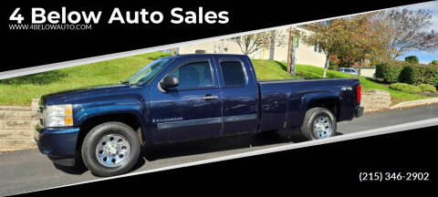 2007 Chevrolet Silverado 1500 for sale at 4 Below Auto Sales in Willow Grove PA