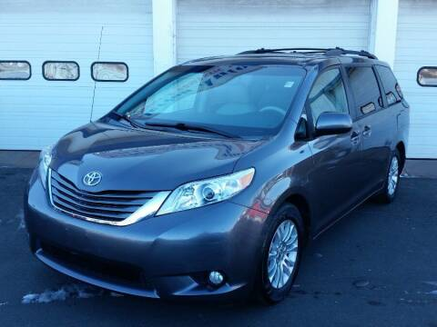 2014 Toyota Sienna for sale at Action Automotive Inc in Berlin CT