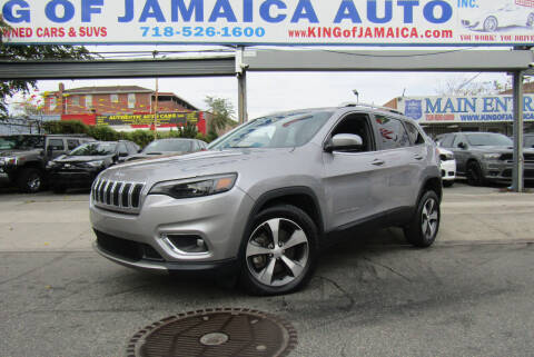 2020 Jeep Cherokee for sale at MIKEY AUTO INC in Hollis NY