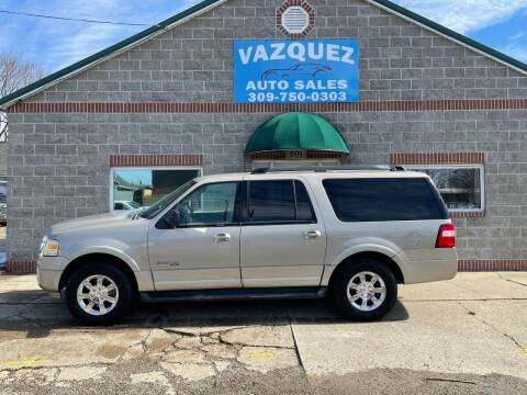 2008 Ford Expedition EL for sale at VAZQUEZ AUTO SALES in Bloomington IL