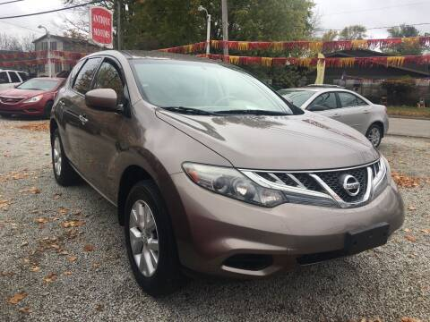 2012 Nissan Murano for sale at Antique Motors in Plymouth IN
