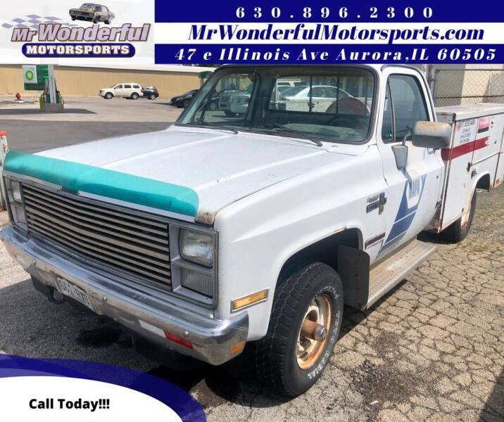 1984 Chevrolet C/K 10 Series for sale at Mr Wonderful Motorsports in Aurora IL