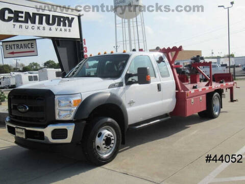 2014 Ford F-550 Super Duty for sale at CENTURY TRUCKS & VANS in Grand Prairie TX