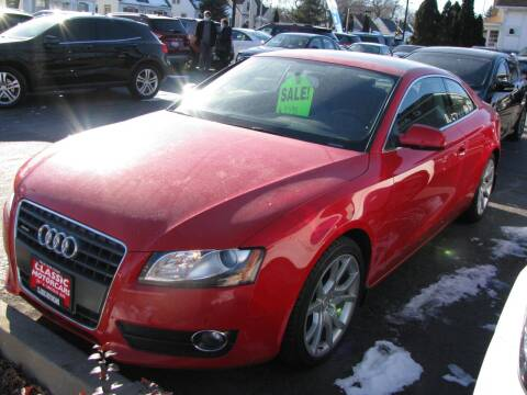 2010 Audi A5 for sale at CLASSIC MOTOR CARS in West Allis WI