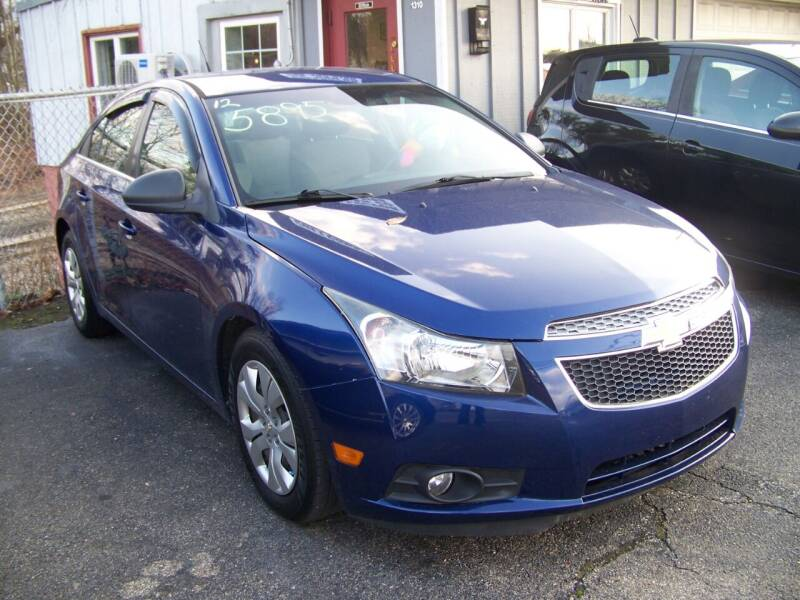 2012 Chevrolet Cruze for sale at Collector Car Co in Zanesville OH