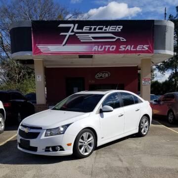 2011 Chevrolet Cruze for sale at Fletcher Auto Sales in Augusta GA