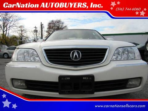 2004 Acura RL for sale at CarNation AUTOBUYERS Inc. in Rockville Centre NY
