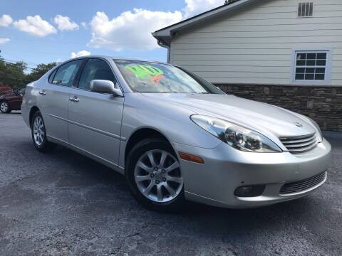 2002 Lexus ES 300 for sale at No Full Coverage Auto Sales in Austell GA