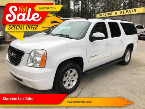 2011 GMC Yukon XL for sale at Cherokee Auto Sales in Acworth GA
