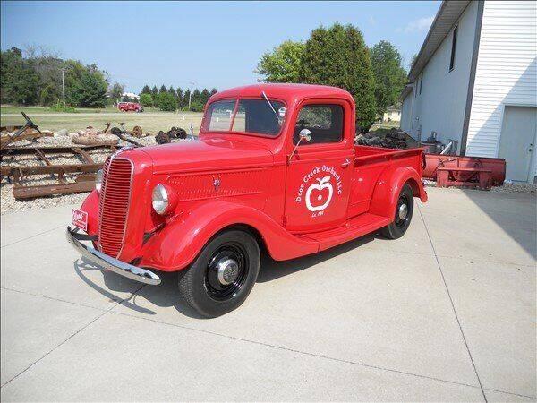 1937 Ford Half ton for sale at OLSON AUTO EXCHANGE LLC in Stoughton WI