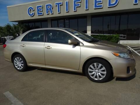 2013 Toyota Corolla for sale at Mac Haik Ford Pasadena in Pasadena TX