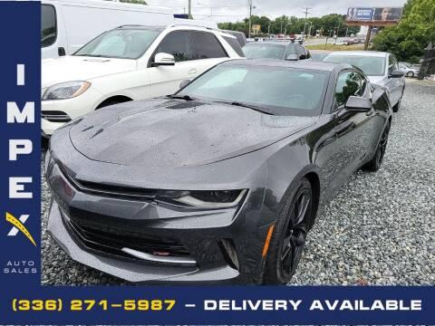 2016 Chevrolet Camaro for sale at Impex Auto Sales in Greensboro NC