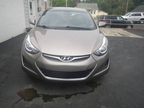 2015 Hyundai Elantra for sale at VICTORY AUTO in Lewistown PA